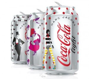 Cans Coca-Cola Light by Marc Jacobs
