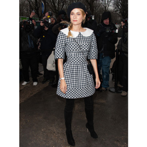 Diane Kruger crisp for the parade Chanel Haute Couture