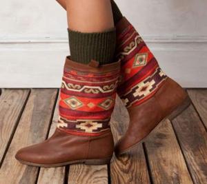 Ethnic boots