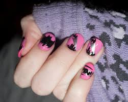 Funky nail paint