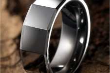 Modern-RnB-Mens-Tungsten-Ring-Wedding-Band-8mm-Silver-main