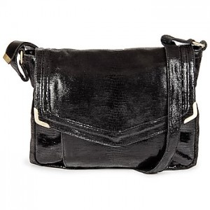 Small black leather bag on sale Mendigote