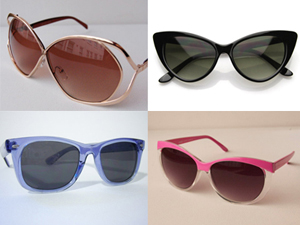 Spotlight on sunglasses