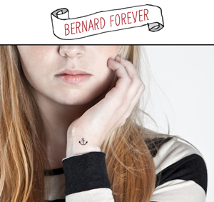 Temporary tattoos Bernard Forever