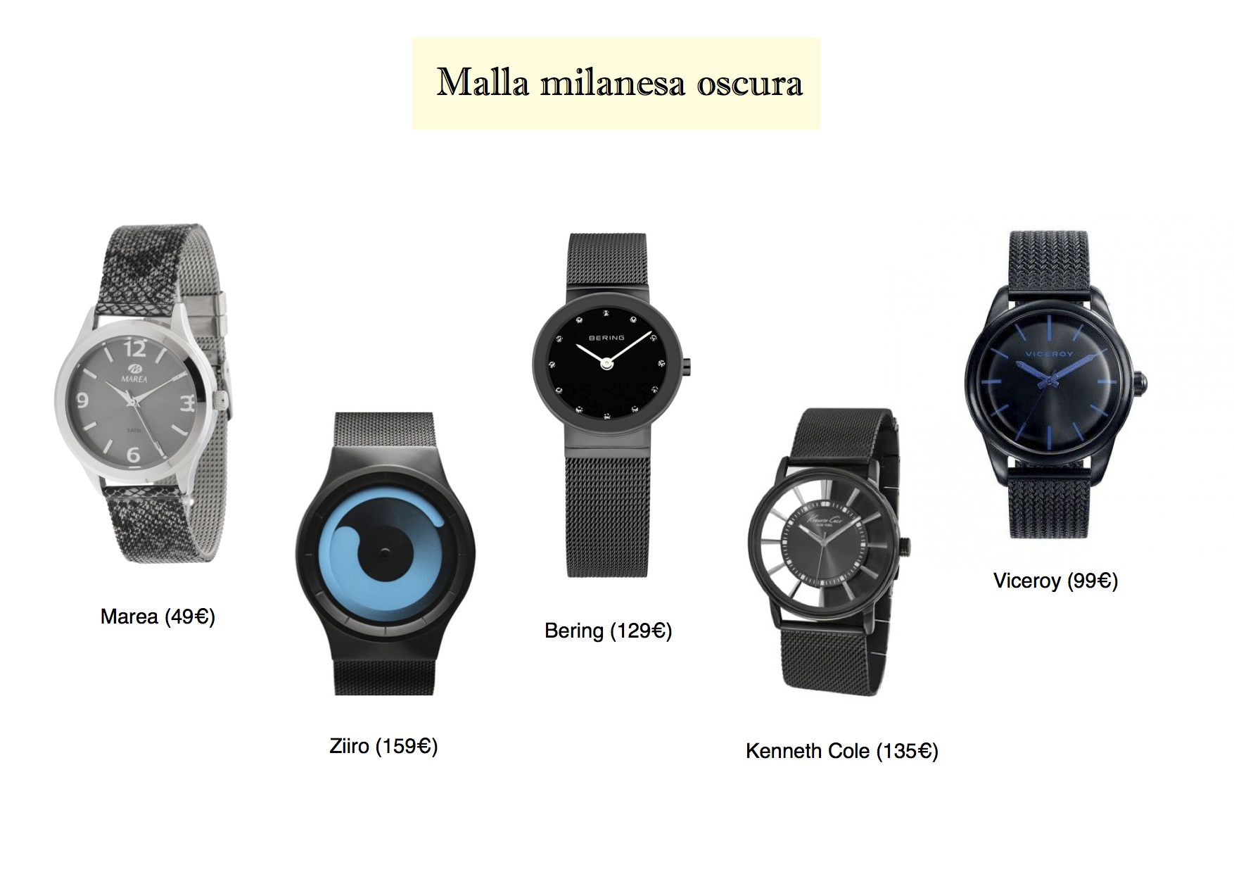 The Milanese Mesh Is The Latest Trends In Watches