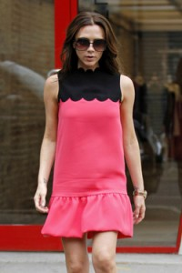 The baby doll dresses from Victoria Beckham