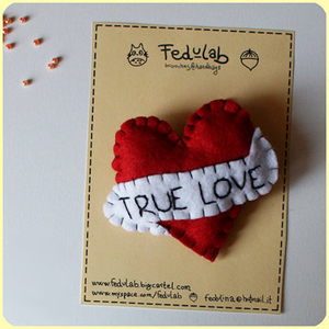 True Love Heart Pin FeduLab