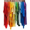 colors-rainbow-shirts-wooden-hangers